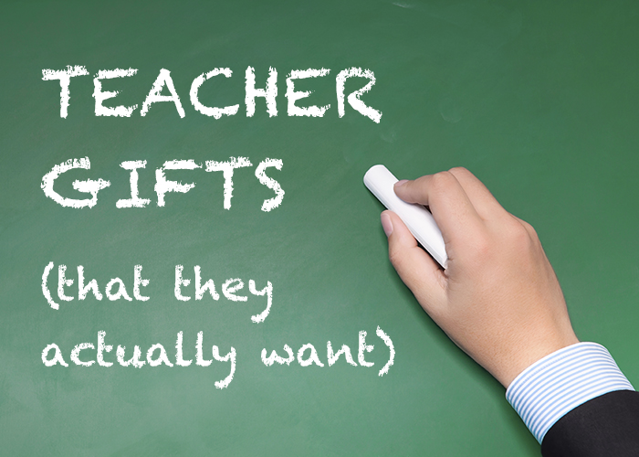 Teacher Gifts (That They Actually Want) by Rachel Edmondson | Spokane County Library District