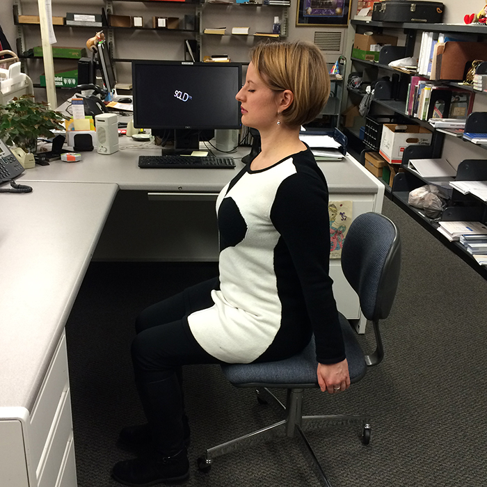 My Office Yogi (a Q&A and Office Yoga Session with Erin Wert) by Aileen Luppert | Spokane County Library District