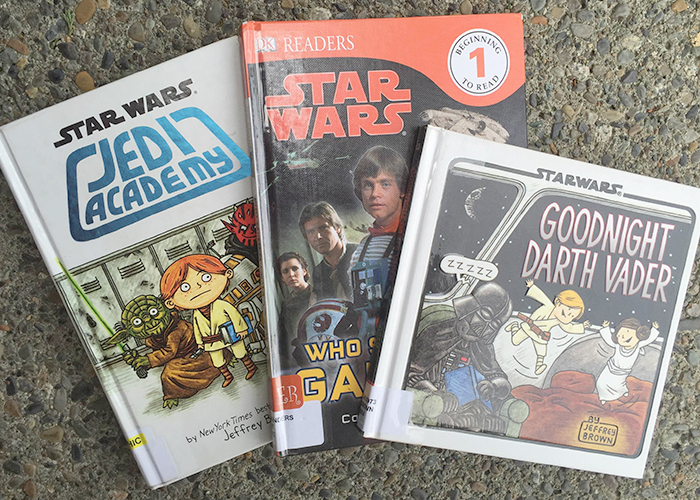May the Force Be With You: 7 Star Wars Books for Kids by Clarissa Fidler | Spokane County Library District