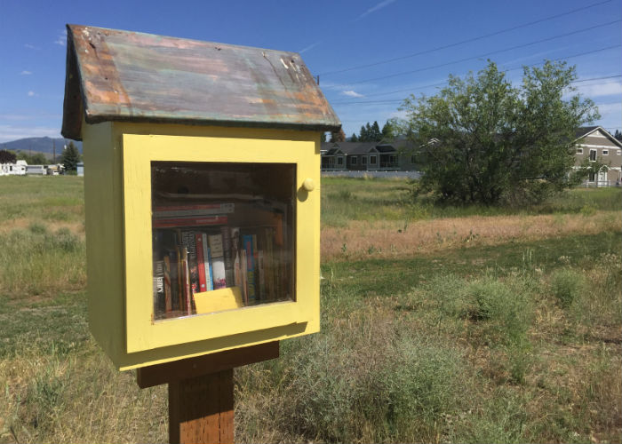 Little Free Libraries: Hope for the Future by Clarissa Fidler | Spokane County Library District