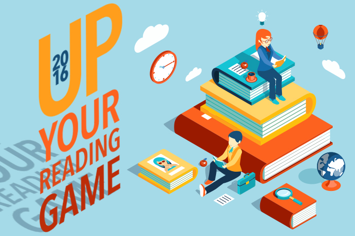 Reading resolutions: Up your reading game in 2016 By Sheri Boggs | Spokane County Library District