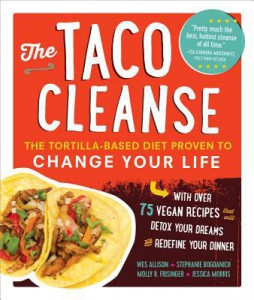 The Taco Cleanse Cookbook Cover
