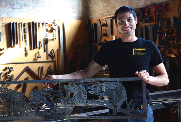 Marcus Budig, Owner / Artist at Northwest Metal Works - Spokane County Library District Business Resources User