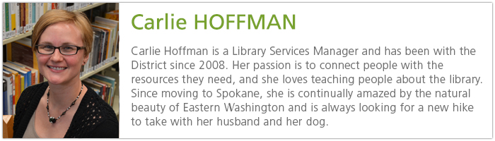 Carlie Hoffman, Digital Services Manager