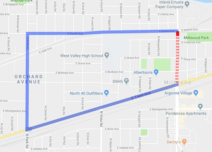 Argonne Road (Millwood) Closure