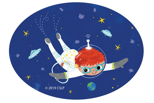 Blast Off! for summer fun with space-themed crafts, books