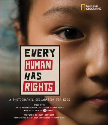 "Book cover for ""Every Human Has Rights"""