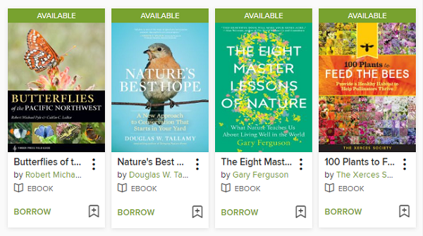 "OverDrive Booklist: ""Be a Citizen Scientist!"""